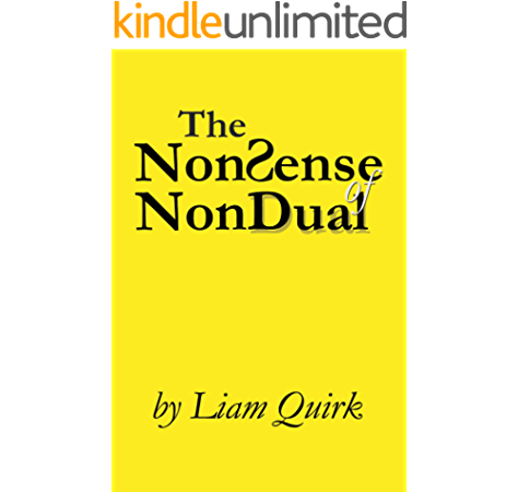 Amazon Com The Nonsense Of Nondual From Mindfulness To Oneness Ebook Quirk Liam Kindle Store