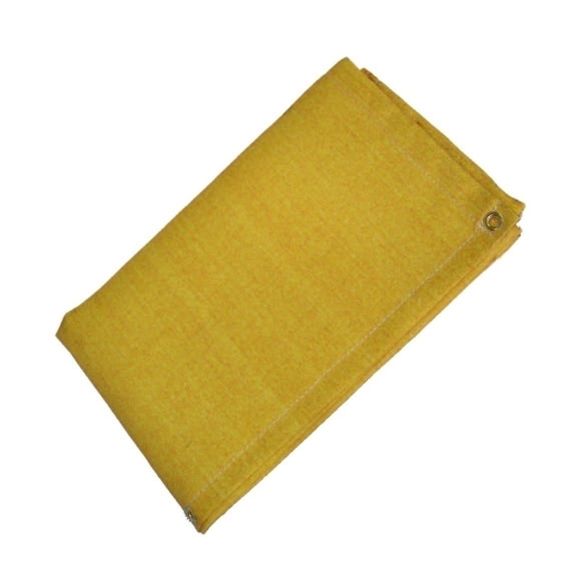 12 X 12 24 oz Gold Slag-Shed Welding Blanket