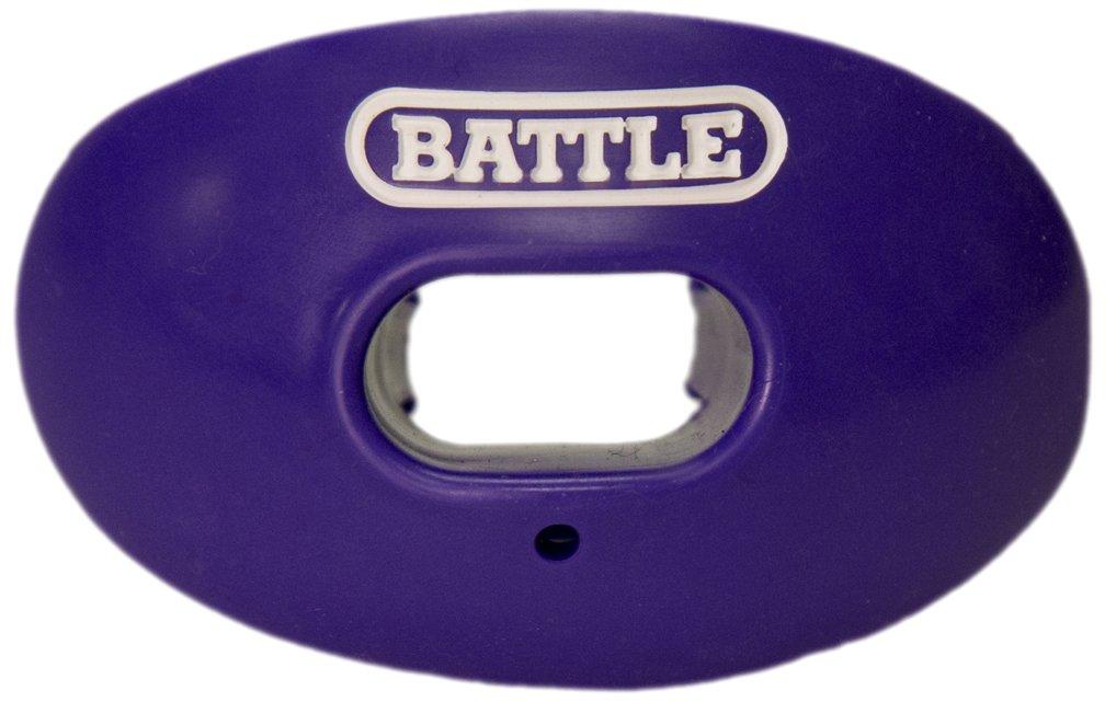 Battle Oxygen Lip Protector Mouthguard, Purple by Battle