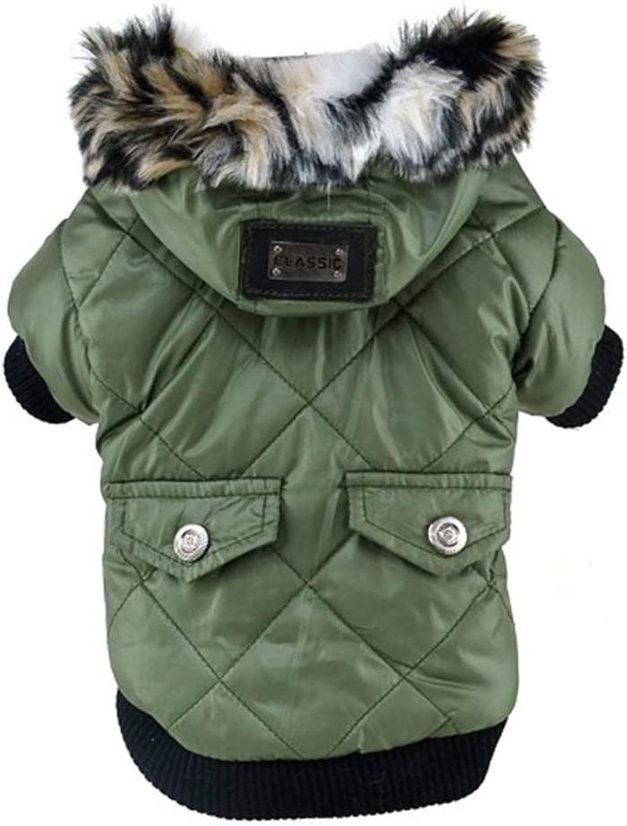 Jim Hugh Dogs Clothes Down Jacket French Bulldog Dog Coat Pet Costume Winter Warm Outwear Clothing