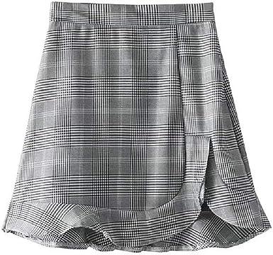 Verano De Los Años 50 Elegante Estilo Vintage Único Mini Falda ...