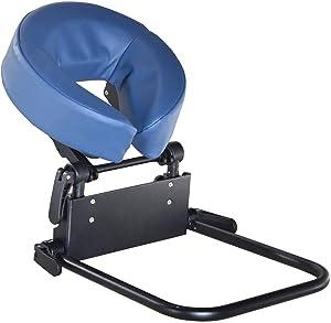 Master Massage Home Mattress top Massage Kit, Face Cradle Down, Headrest For Massage Bed -Adjustable Headrest & Face Cushion, Massage Equipment (Royal Blue)