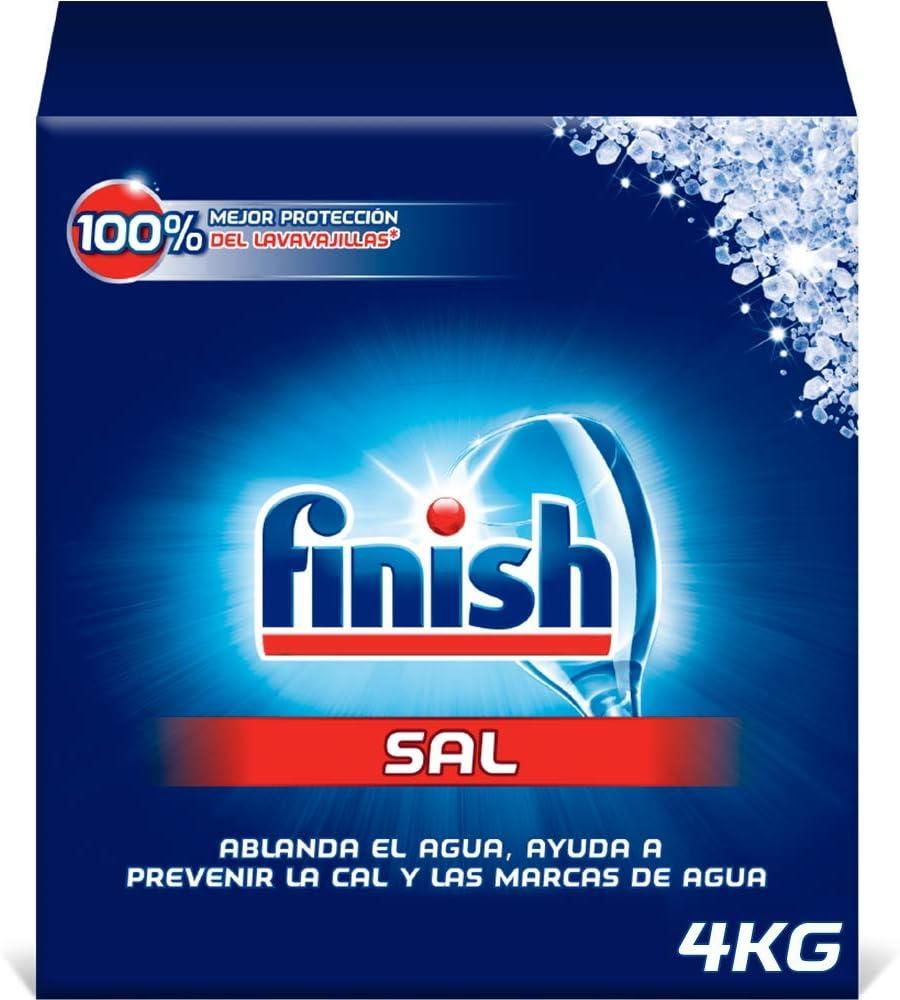 Finish Sal para Lavavajillas, 4 kg