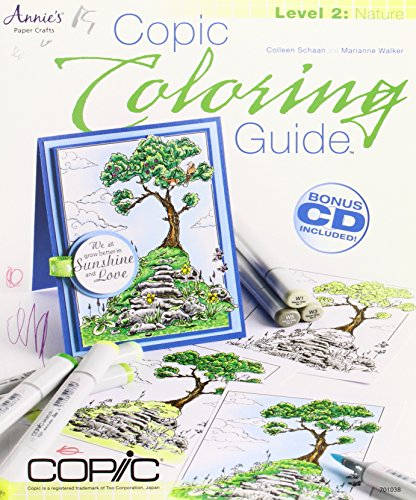 Copic Markers Coloring Guide 2