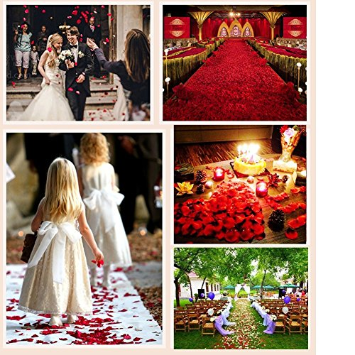 Helenhouse-3000-PCS-Artificial-Silk-Flower-Green-Rose-Petals-for-Wedding-Party-Bridal-Decoration
