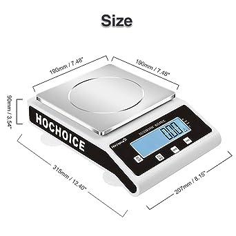Amazon.com: Precisión de la elección: 0.00 oz de balanza ...