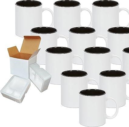 Details about  /Osryd White Black Men Gift Coffee Mug