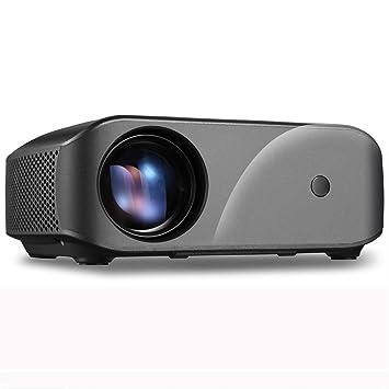 CHANYO proyector portátil, F10 Distancia Ajustable 1920x1200 ...