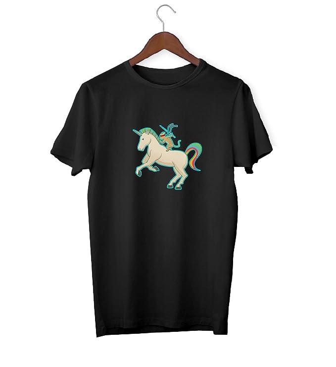 KLIMASALES Ninja Cat On Magic Unicorn Ride_KK017302 Shirt T ...