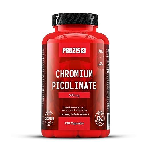 3 opinioni per Prozis 100% Cromo Picolinato- Sostiene livelli sani di Colesterolo e Glucosio,