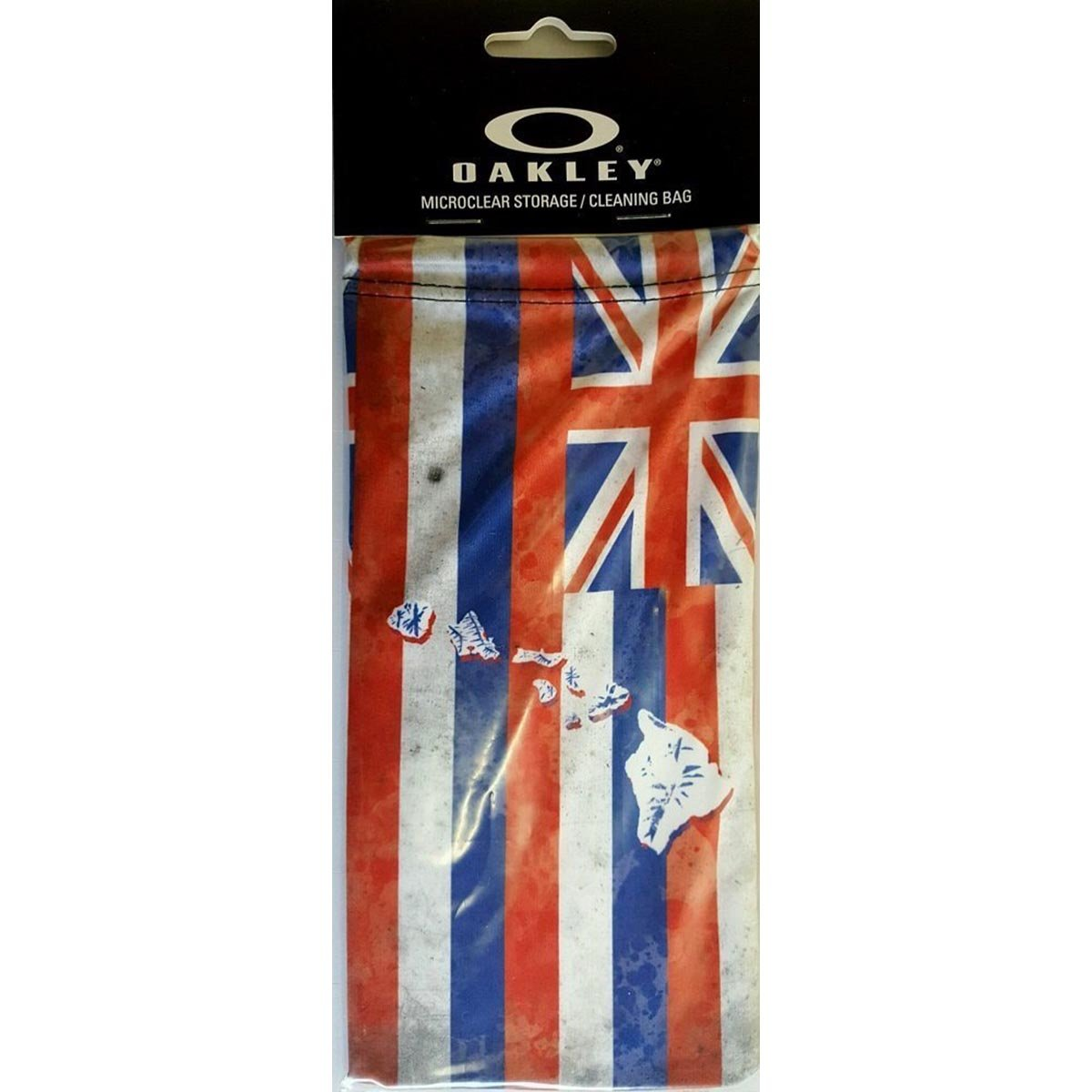 53c49b671e Oakley Hawaii Flag Microbag Sunglass Accessories - Red One Size at Amazon  Women s Clothing store