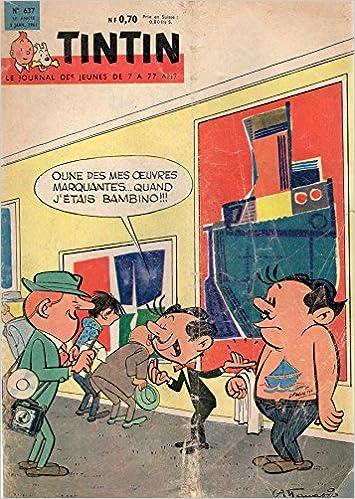 Livre Tintin n° 637 - 5 janvier 1961 - couverture Attanasio pdf ebook