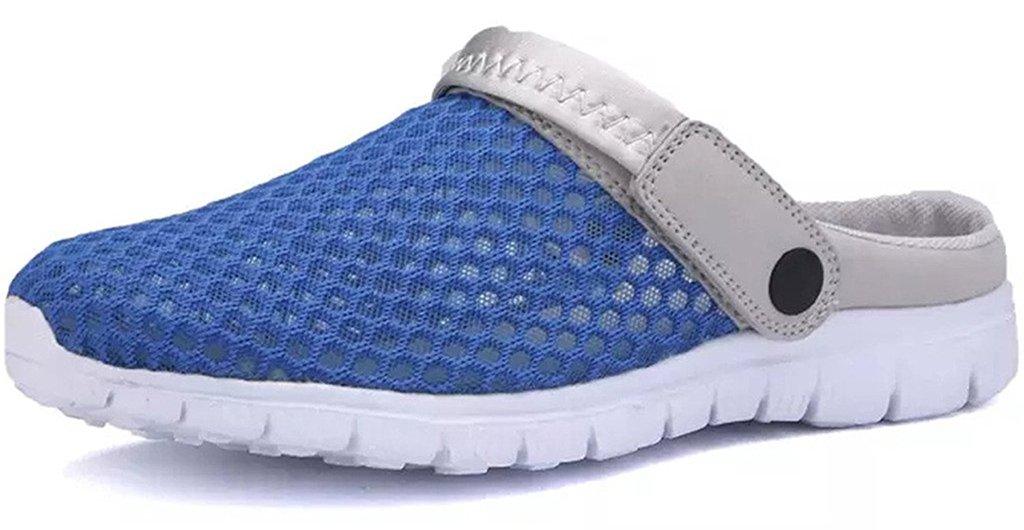 Eagsouni Sabots Chaussons Chaussures de Homme Eagsouni Plage et 19970 Jardin Sandales Homme Femme Bleu b7dfc47 - latesttechnology.space