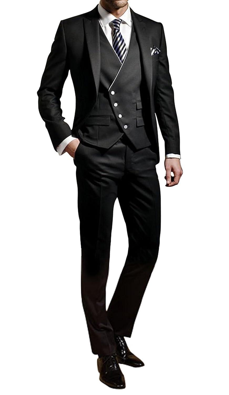 GEORGE Abito Completo Uomo giacca smoking abiti giacca 3-pezzi giacca Uomo  set ca118b7e694