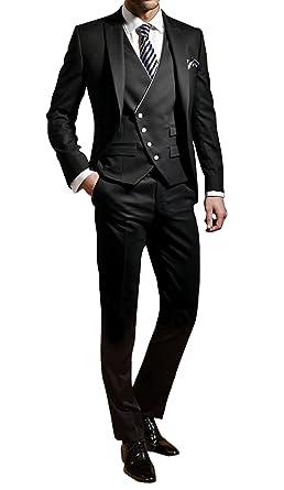 George Costume Homme Hommes Costumes Veste Veste de Costume Set 3 pièces 46390d3ae39
