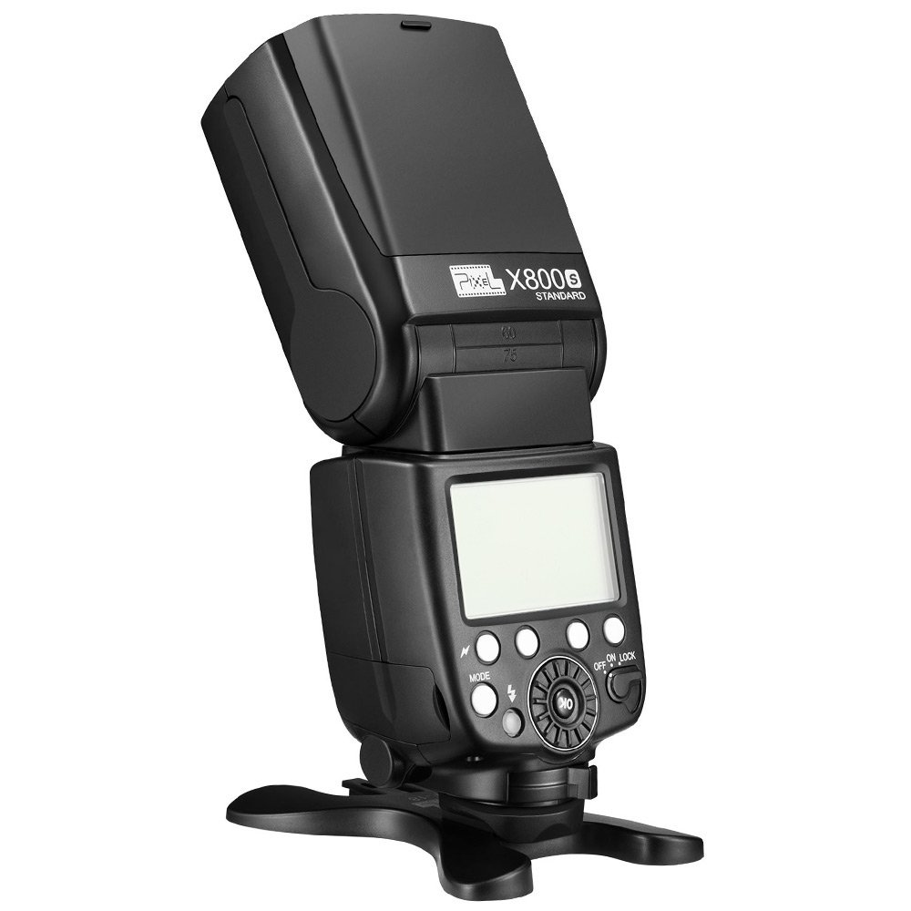 Pixel X800S Camera Flash Speedlite with TTL 1/8000s Flash for Sony Mirrorless Camera and DSLR Camera A7 A7S A7SII A7R A7RII A7II NEX6 RX1 RX1R RX10 RX100II HX50 A6000 A6300