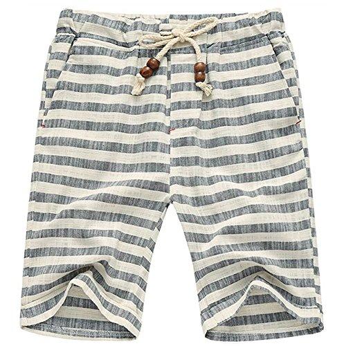 Sandbank Summer Casual Drawstring Striped product image