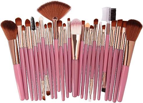 DXIA Brochas de Maquillaje, Brochas Maquillaje Comésticos 25 ...