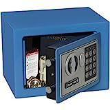 HONEYWELL - 5005B Steel Security Safe with Digital Lock, 0.17-Cubic Feet, Blue