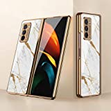 Case for Samsung Galaxy Z Fold2 5G Cases Ultra-Thin PC + 9H Tempered Glass Phone Cover for Samsung Galaxy Z Fold2 5G…
