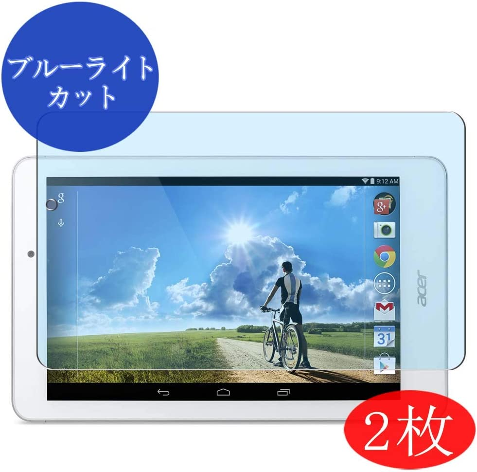 ?2 Pack? Synvy Anti Blue Light Screen Protector for Acer Iconia Tab 8