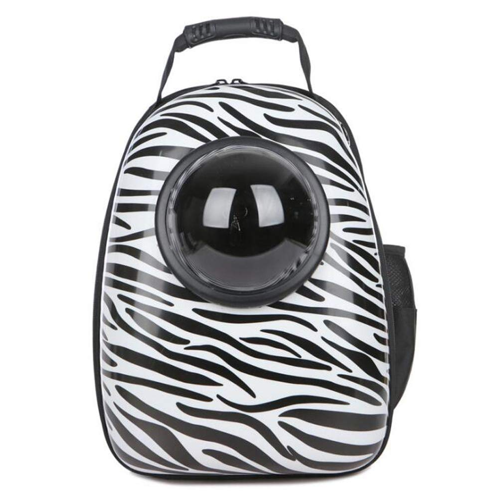 H Portable Pet Space Backpack Out Waterproof Pet Bag Breathable Cat Bag Dog Backpack Pet Supplies.