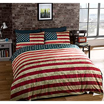 Amazon Com Twin American United States Flag Reversible