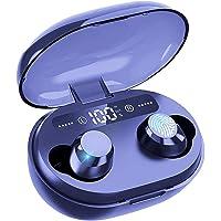 Salandens Auricular bluetooth inalámbrico IPX6, Audifonos Bluetooth 5.0 Deportivos resistentes al agua, 65 horas de…