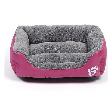 Mzdpp Red Comfort Forro Caliente Advanced Wearable Cat Cama para Perro Mascota 3 Tamaño Grande Mediano Y Pequeño 80X62Cm: Amazon.es: Productos para mascotas