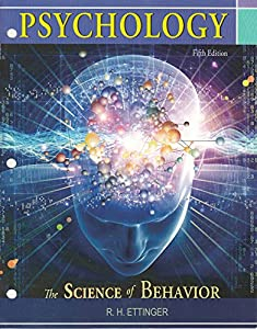 Psychology(the Science of Behavior) Fifth Edition