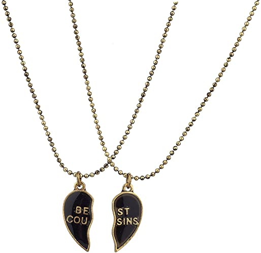 """February Birthstone Necklace 2pc Set One for Child One for 18/"""" Doll"""
