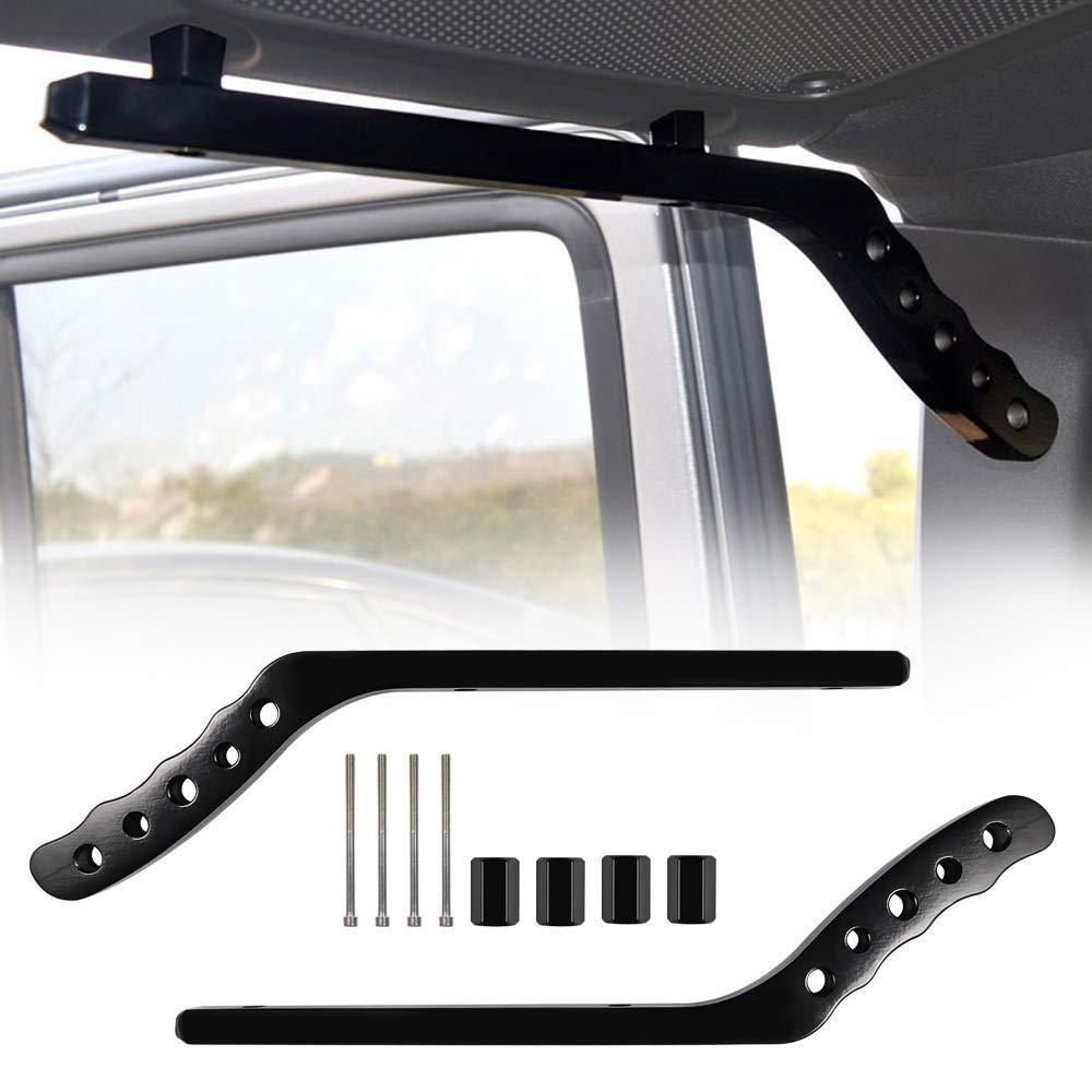 Danti Rear Grab Handles Black Grip Handle Grab Bar for Jeep Wrangler JK JKU Sports Sahara Freedom Rubicon X /& Unlimited 2/&4 Doors 2007-2018
