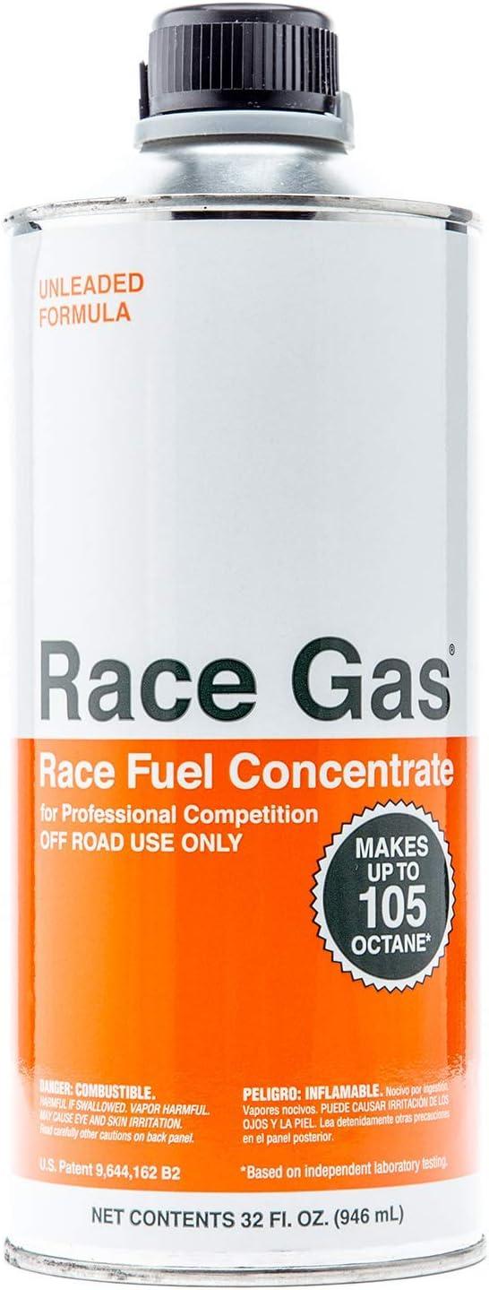 RaceGas 100032 Race Fuel Concentrate 100 to 105 Octane