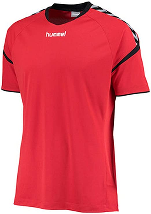 hummel AUTH Charge SS Poly Jersey Camiseta: Amazon.es: Ropa y accesorios
