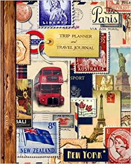 trip planner and travel journal vacation planner diary for 4