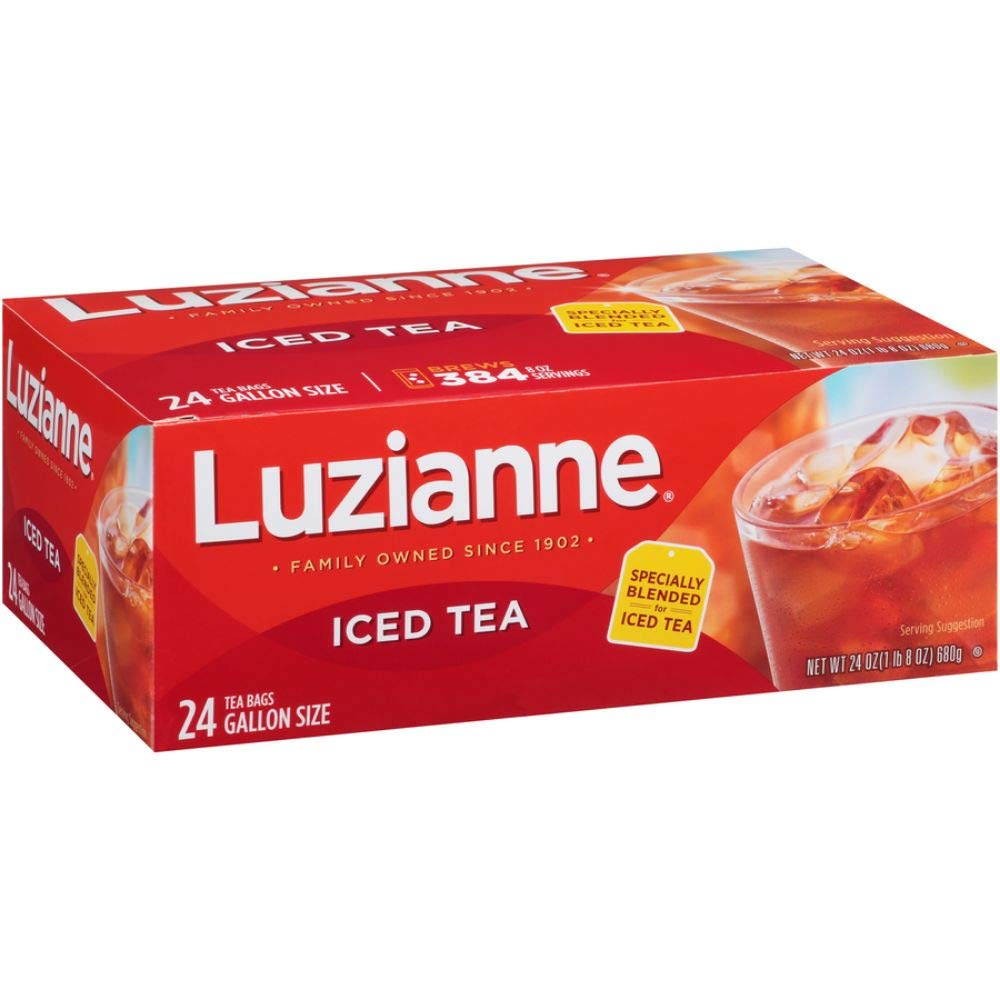 Luzianne Specially Blended For Iced Tea 24 Gallon Size Tea Bags, 24 Oz.