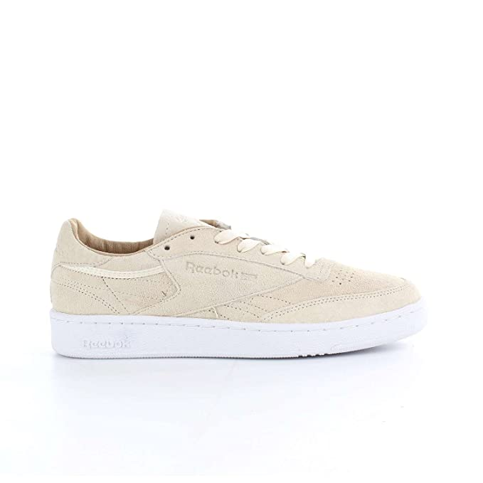 Zapatillas Reebok - Club C 85 Lst crema/blanco: Amazon.es: Zapatos y complementos