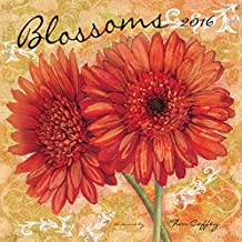 Perfect Timing Lang Wells Street Blossoms 2016 Wall Calendar by Tim Coffey, January 2016 to December 2016, 13.375x24-Inch (7001712)