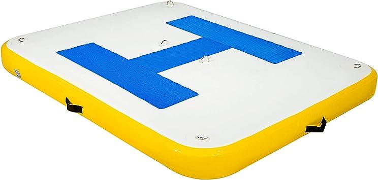 Amazon.com: Happybuy - Base flotante inflable para alberca ...