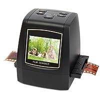 DigitNow! 22MP All in 1Slide, Película y Negativo escáner con Velocidad Carga adaptadores para 35mm, 110, 126Diapositivas/Negativos, Super 8Películas