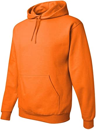 Sfty Green Jerzees Big Boys Two-Ply Hood Fleece Pocket Sweatshirt Medium