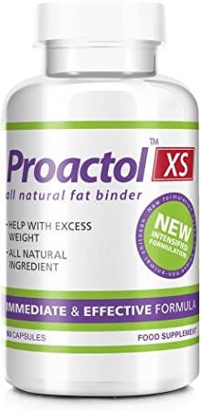 proactol xs appetite suppressant and clinically proven fat binder capsules  - pack of 360: amazon.co.uk: health & personal care  amazon.co.uk