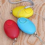 LOCHI Egg Shape Self Defense Alarm Girl Women Security Protect Alert Personal Safety Scream Loud Keychain Alarm