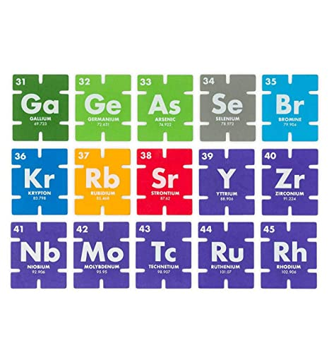 Amazon com: HearthSong Periodic Table Learning Connectagons