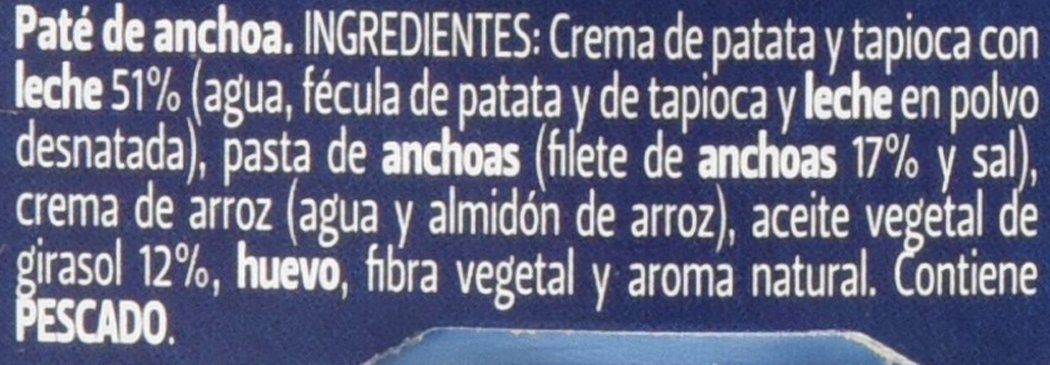 Piara - Paté Anchoa Solo Natural, 154 g: Amazon.es: Alimentación y bebidas