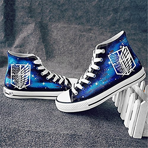 sneaker on top hi sneaker Titan Attack bromeo luminoso scarpe unisex ptq51