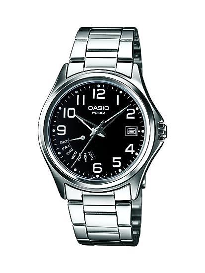 Con Casio Analógico Mtp 1369d Reloj 1bvef De Cuarzo Correa IbgYf67yvm