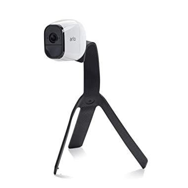 Quadpod Mount Compatible with Arlo PRO & Arlo GO & Arlo Ultra, Versatile Mount for Arlo Cams, Made of Weatherproof, Rugged Silicone, Mount Your Arlos Anywhere w/o Tools or Wall Damage (Black)