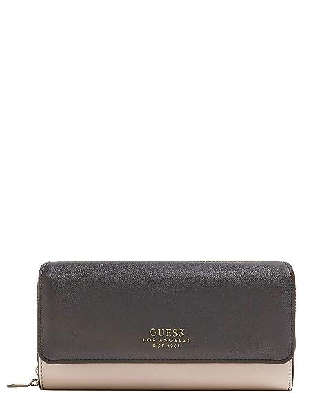 GUESS Cartera clutch negro ELLA SLG (Única - Negro): Amazon.es: Ropa y accesorios