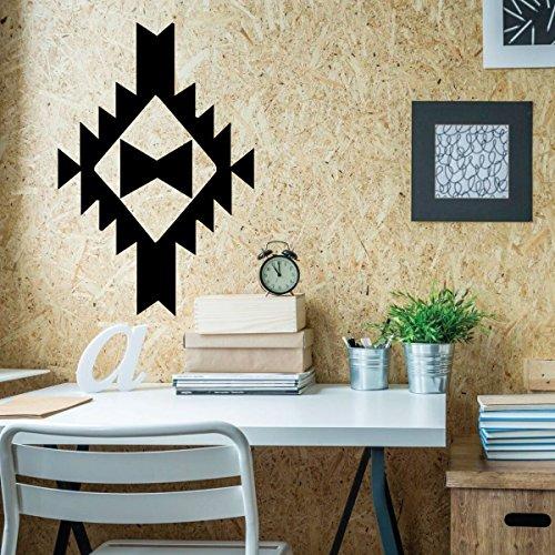 - Native American Wall Decor - Southwest Style Vinyl Art Sticker for Museum, Bedroom, Living Room, Office
